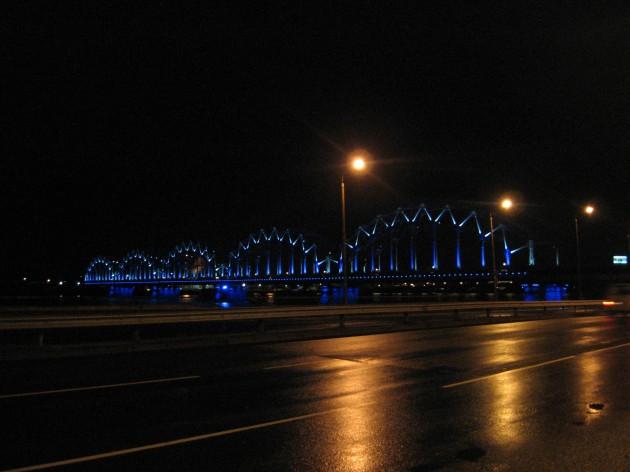 Tiltas, Ryga, 6:32 ryte