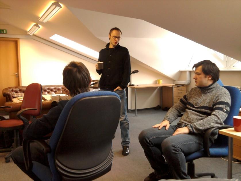 Donatas pasakoja apie interaktyvias elektronines knygas ir jų lietuvišką pasaką apie pelytę smailytę
