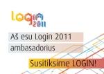 login 2011 ambasadorius badge