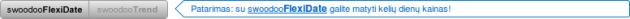 Pasiūlymas išbandyti Flexi Date paiešką (swoodoo.com)