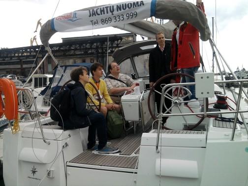 Ekskursija po jachtas