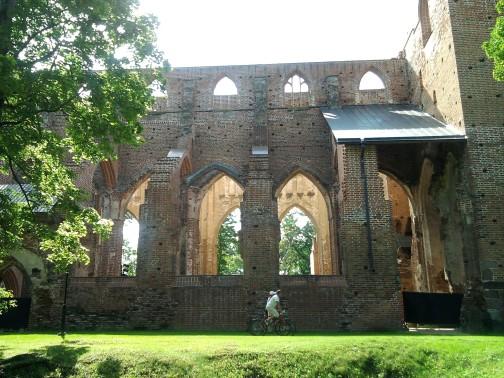 Bažnyčios liekanos Tartu