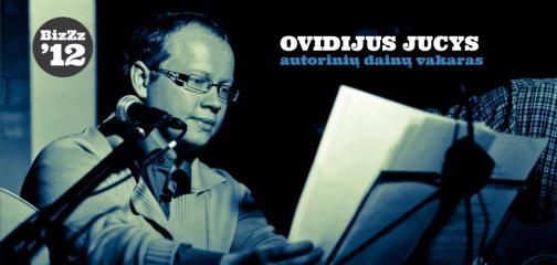 Vakaro programoje Ovidijus Jucys atliks savo autorinius darbus