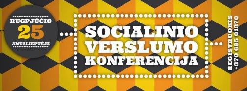Socialinio verslumo konferencija