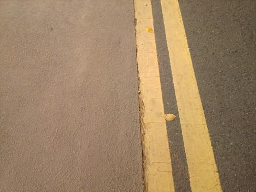 Minkštas linoleumas ant gatvės pėstiesiems