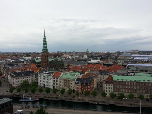Vaizdas nuo bokšto
